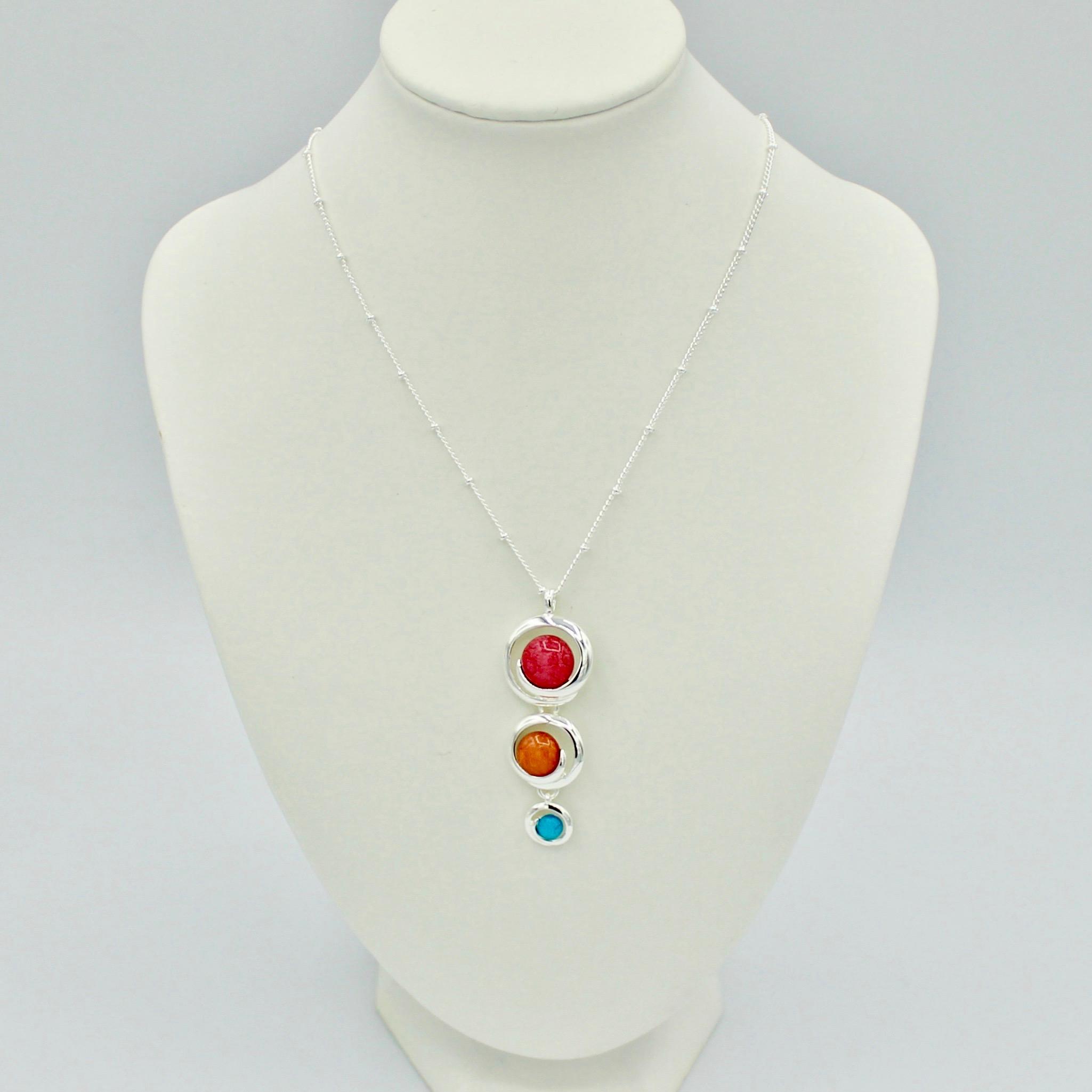 Tricolour Necklace