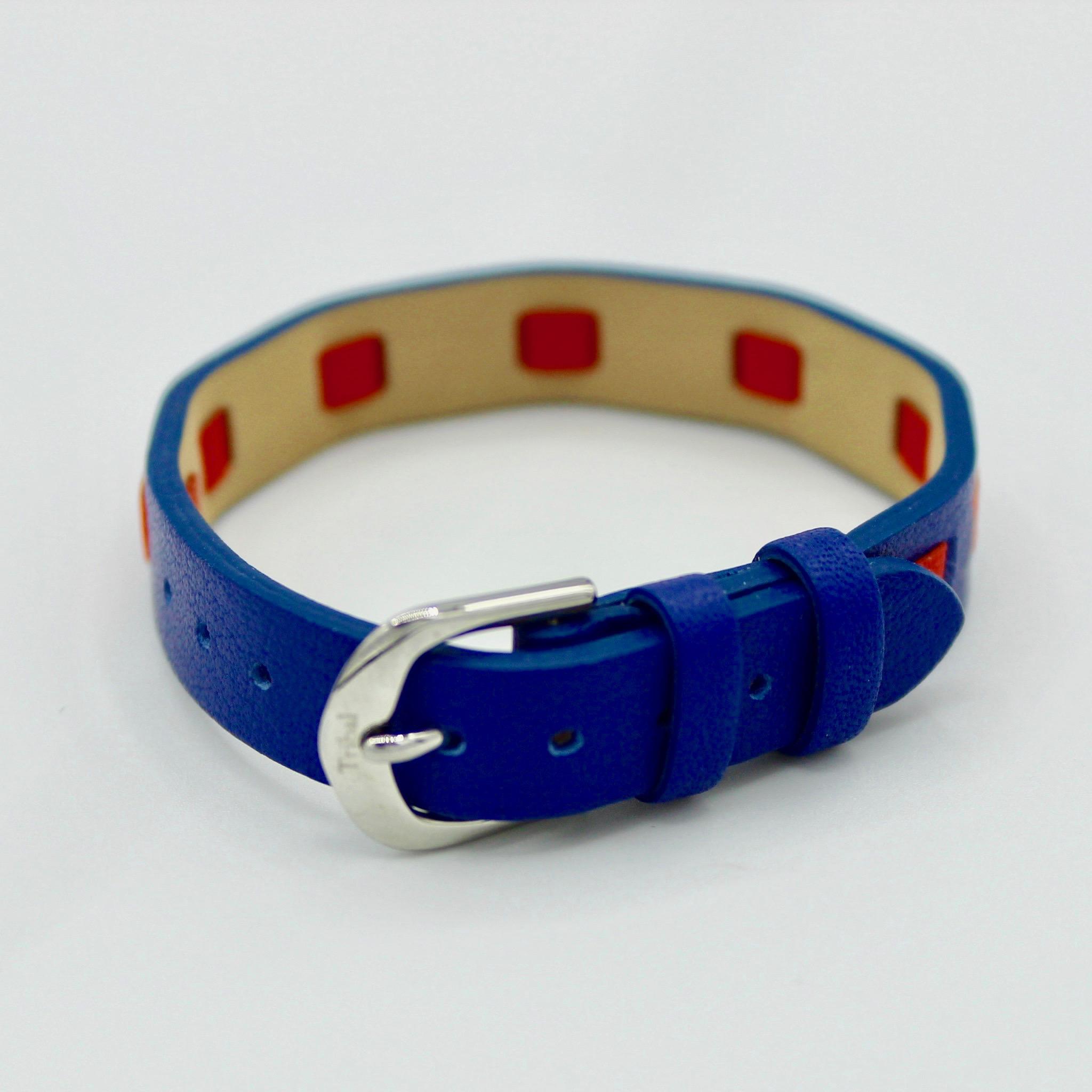 Kids Blue leather bracelet
