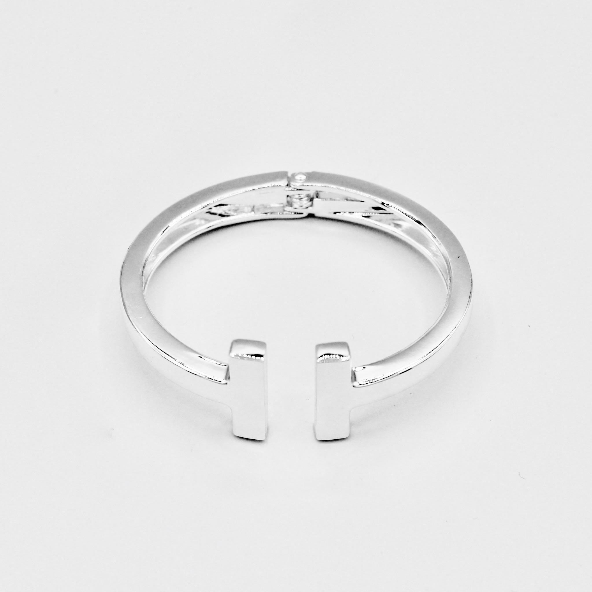 Silver T-Bar (Tiffany Style) Bracelet