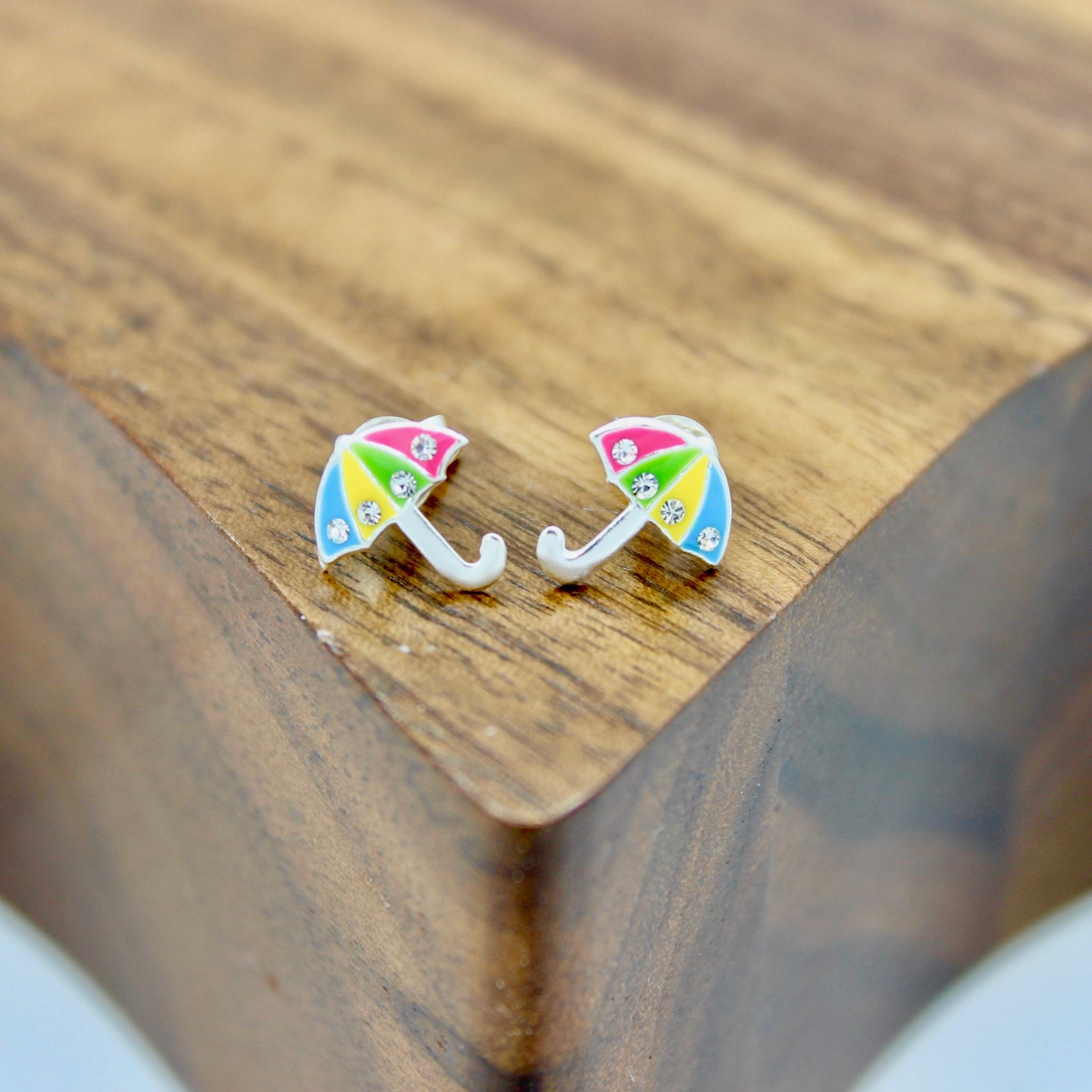 Umbrella Stud Earrings